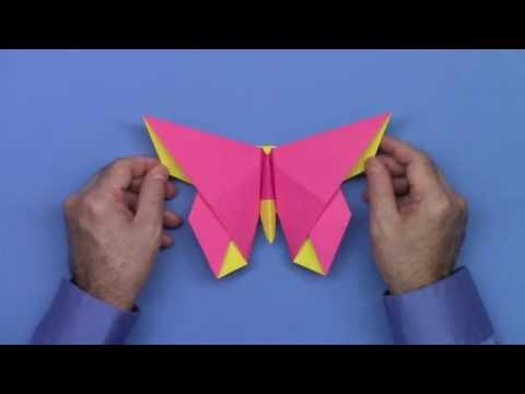 LaFosse Butterfly for OrigamiUSA