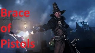 Vermintide V1.5 - Witch Hunter Brace Of Pistols - Solo Man The Ramparts Nightmare
