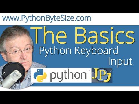 Python Keyboard Input