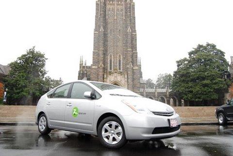 Zipcar Comes to Duke