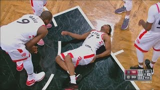 Kyle Lowry  Unable To Walk After SCARY Back Injury!