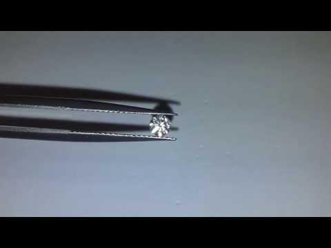 Loose Round Cut 0.2 Carat Stunning Diamond SI1 Clarity Color E-F RARE Vintage
