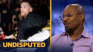 Shane Mosley makes his McGregor vs Mayweather prediction | UNDISPUTED
