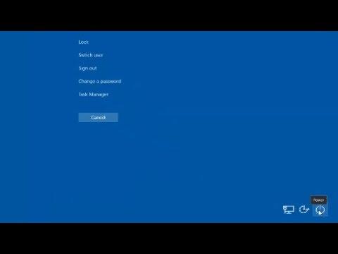 Shortcut to Restart, Shut Down, or Put Your Computer to Sleep - Windows 10