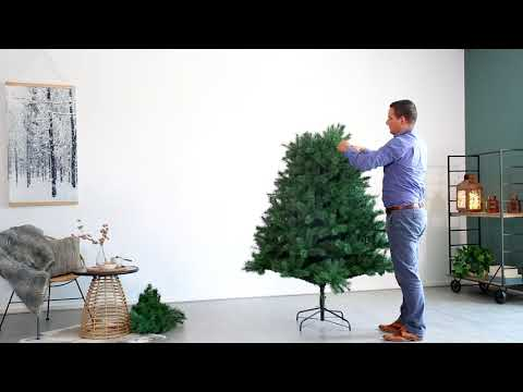 How to assemble the Canada Spruce artificial tree