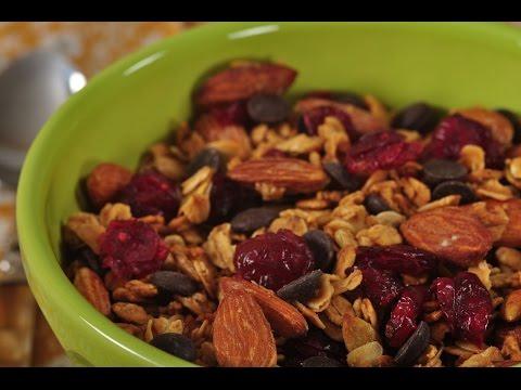 Honey Granola Recipe Demonstration - Joyofbaking.com