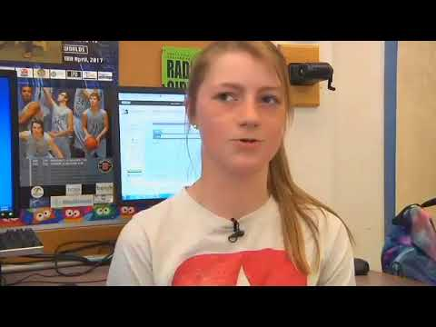 High School Students Become Newscasters