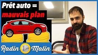 Pourquoi il ne faut JAMAIS acheter une voiture à crédit