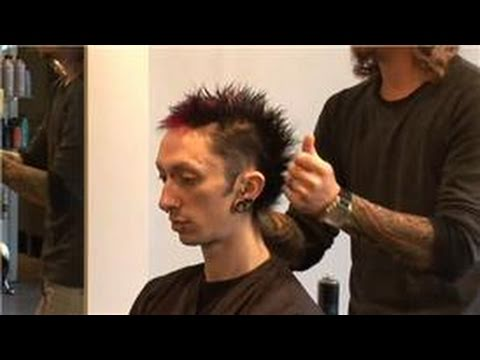 Hair Care for Men : Messy Punk Hairstyles for Men