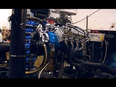 500 Horsepower 400 Ford Engine on the Dyno
