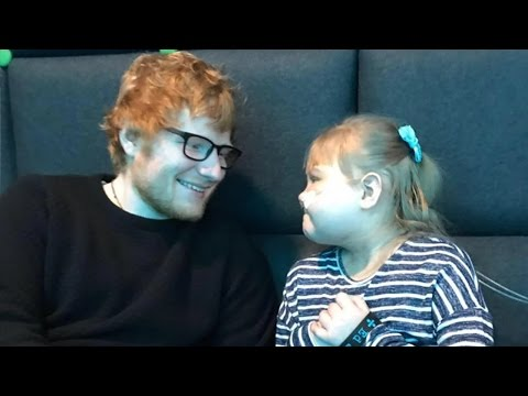 Ed Sheeran Performs PRIVATE Concert For Sick Fan At O2 Arena