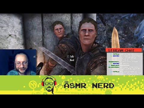 Twitch Archive | ASMR-ish Let's Play Skyrim! | 12 | I AM GRUIT!