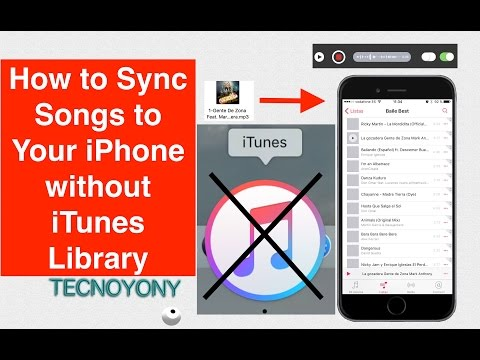 How to Sync Songs to Your iPhone or iPad without iTunes Library