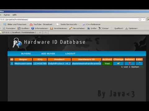 Hardware ID Database