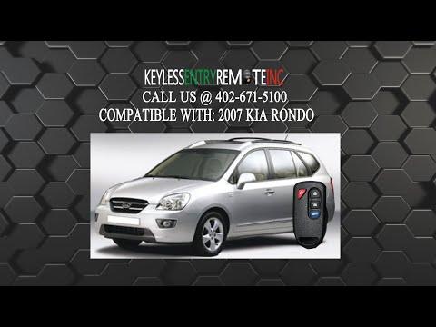 How To Replace A Kia Rondo Key Fob Battery 2007 - 2010 Part # GOH-PCGEN2