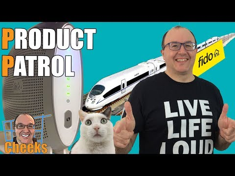 Fido Internet Product Review: High Speed Modem Unboxing, Speed Test 2017