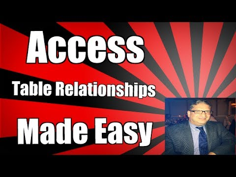 How to Create a Multiple Table Query Access 2007 and Access 2010 and Access 2013 and Access 2016