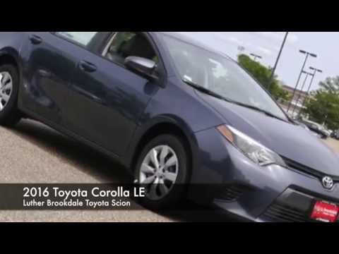 2016 Toyota Corolla LE | Luther Brookdale Toyota Scion in Brooklyn Center