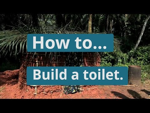 How to build a toilet | WaterAid