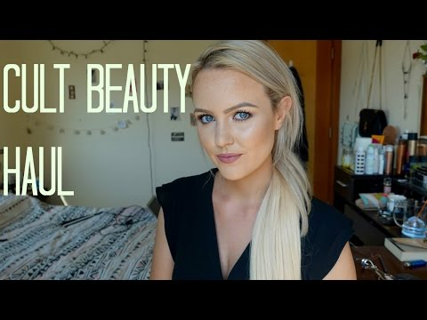 Cult Beauty Haul - Skin Care and Makeup