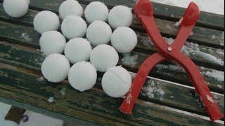 How to make a SNOWBALL machine