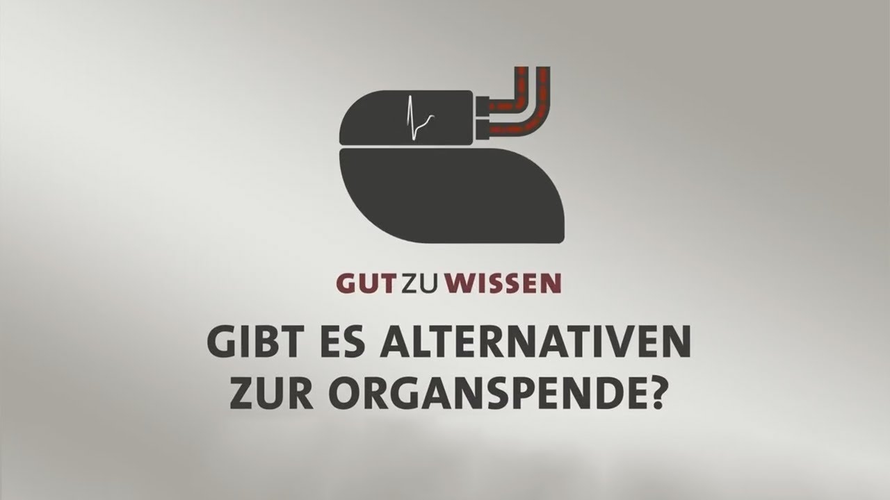 #gutzuwissen: Gibt es Alternativen zur Organspende?