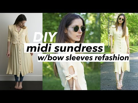 502639dcfb316 DIY ruffle sleeve top refashion from dress shirt - Sleeves To Cover ...