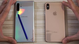 9 9 MB] Download Samsung Galaxy Note 10 Plus vs iPhone XS