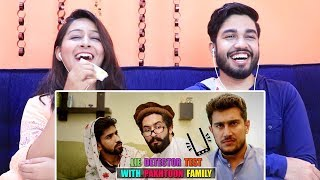 INDIANS react to Lie Detector Test With Pakhtoon Family By Our Vines & Rakx Production