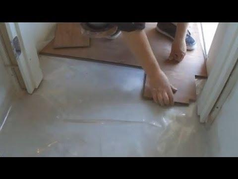 Installing a Laminate Floor around the Door Frame/Door Jamb in Hallway Mryoucandoityourself