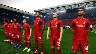 PES 2019 Realistic Highlights: Liverpool Vs Bayern Munich   UEFA Champions League 2019