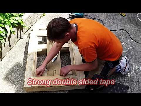 How to make an interesting Wood Mirror Frame.