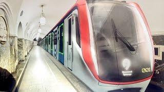 Новый поезд 765 серии для Московского метрополитена появиться в конце 2016 г производитель :  Трансмашхолдинг Сделано в России Made in Russia