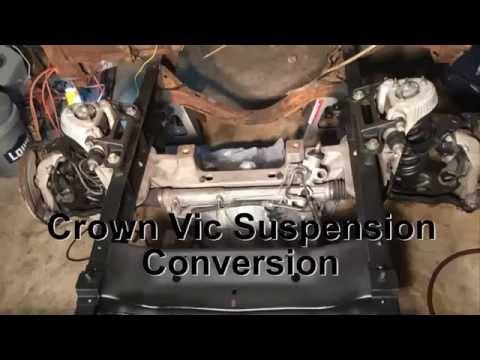 '58 F100 Crown Vic Suspension Swap