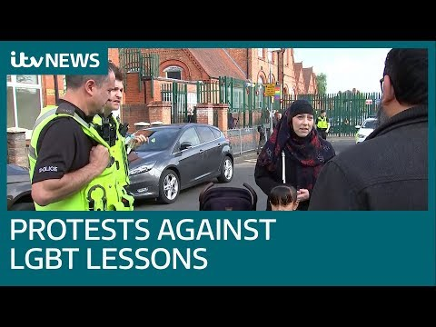 Xxx Mp4 Children Taken Out Of School Over Lessons About Same Sex Relationships ITV News 3gp Sex