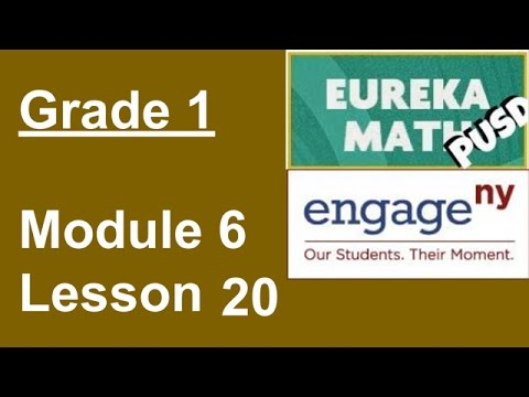 Eureka Math Grade 1 Module 6 Lesson 20