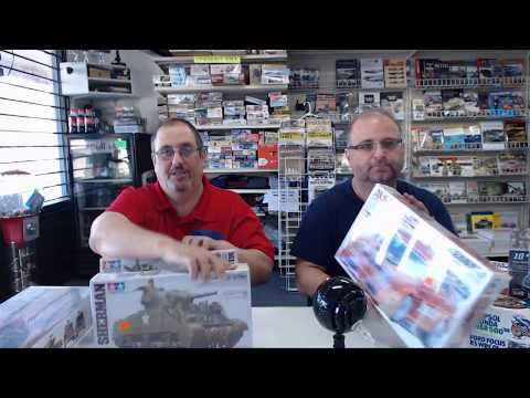 Hobby Talk live Tuesday , The Great Model Crossover Challenge part  1