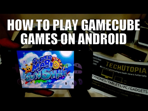 How To Play GAMECUBE/Wii Games On Android smartphones(Dolphin emulator Tutorial+settings/install)