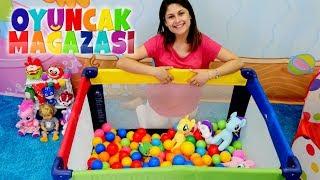 Ayşe'nin Oyuncak Mağazası Oyun Alanı Kuruyoruz! Çocuk Videosu.