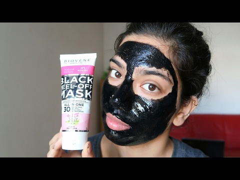 Does this work ? Biovene black peel-off mask First impression + Giveaway(closed)
