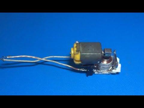 Relay as generator , 3 7vDC to 23vAC generator