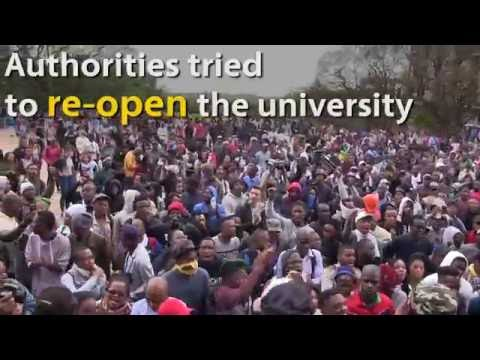 WITS #FEESMUSTFALL WRAP: Here's what you need to know in under 90 seconds