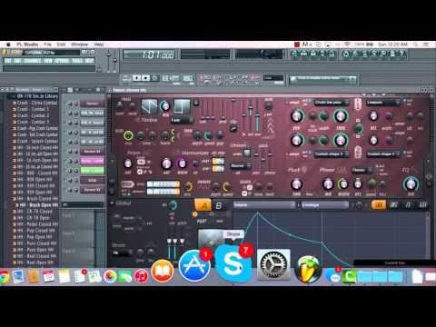 Making A Glitch Hop Drop In FL Studio 11!