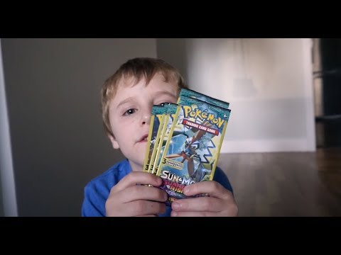 Opening Pokemon TCG Sun and Moon Guardian Rising Booster pack from Dollar Tree pt 2