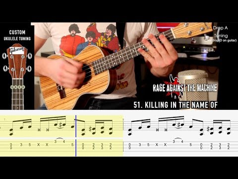 100 Riffs Goes Ukulele! Part Two (WITH TABS!)