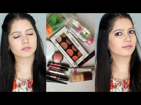 Step by Step makeup for beginners Under 300/Affordable Makeup Look ||TipsToTop By Shalini
