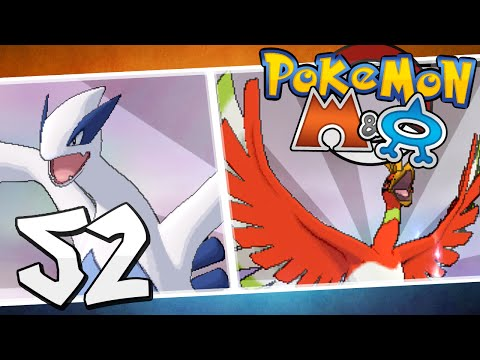 Pokémon Omega Ruby and Alpha Sapphire - Episode 52 | Ho-Oh and Lugia!