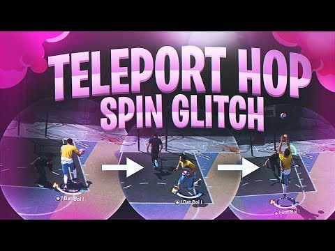 TELEPORT HOP SPIN GLITCH - IMPOSSIBLE TO GUARD - NBA 2K18