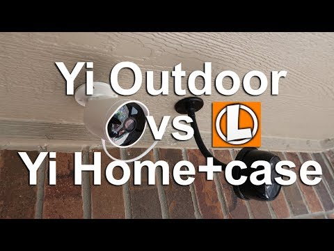 Yi Home 1080p vs Yi Outdoor Cam - Features, Settings, Sample Footage + Yi App Issue