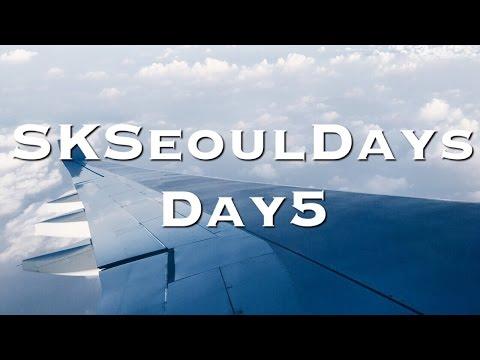 SKSeoulDays - Day 5 (Tax refund in incheon airport)